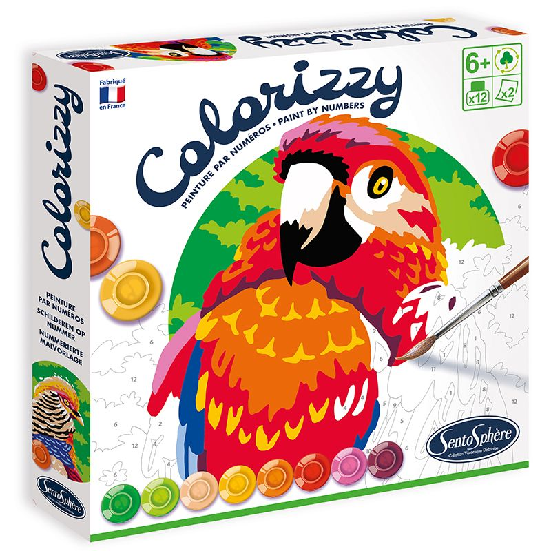 Painting Sets and Colouring by Numbers
