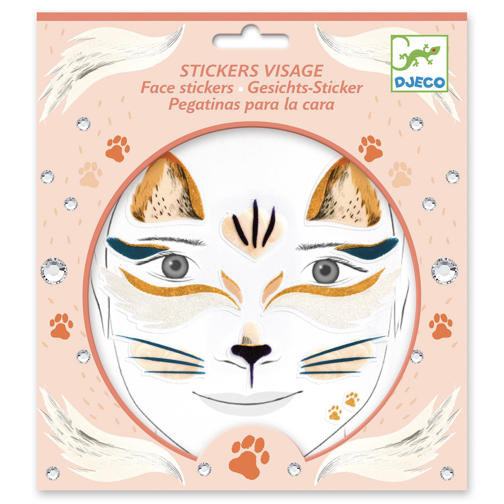 Djeco Face Painting and Face Stickers