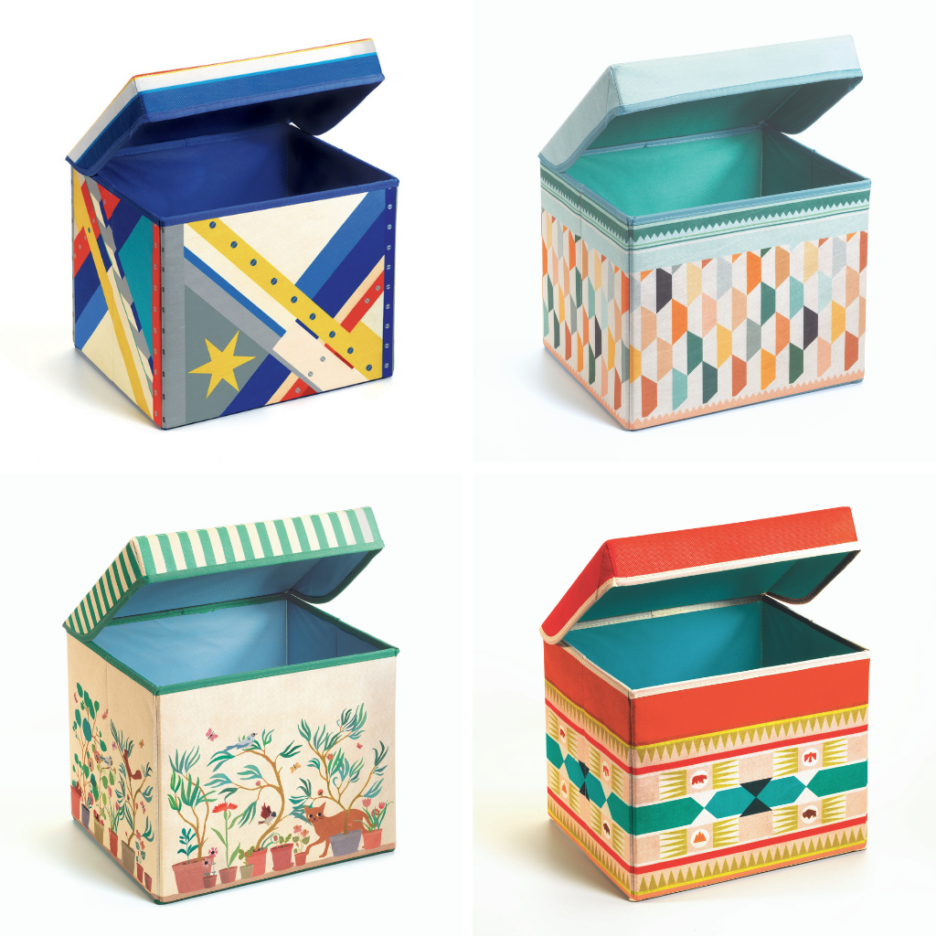 Djeco Play Tents and Toy Boxes