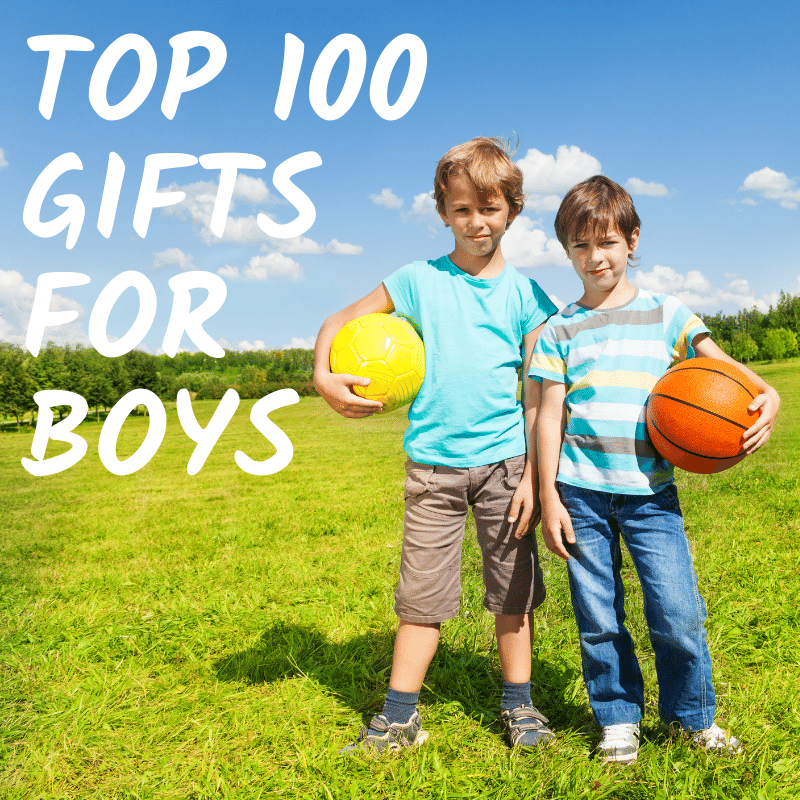Top 100 Gifts for Boys