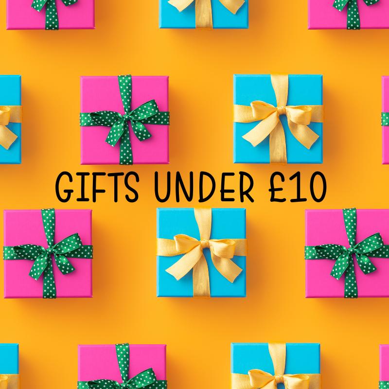 Presents under £10