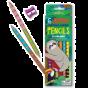 6 Jumbo Double Sided Pencils - Sloths