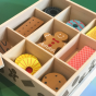 BigJigs Toys Wooden Box of Biscuits
