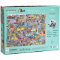 Crocodile Creek 1000 piece Family Boxed Puzzle - Buildings of the World