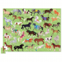 Crocodile Creek 100 pc Puzzle - 36 Horses
