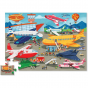 Crocodile Creek 36 pc Shaped Floor Puzzle - Busy Airport