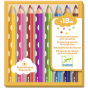 Djeco 8 Colouring Pencils For Little Ones