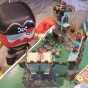 Djeco Arty Toys - Castle on ze rock