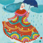Djeco Mosaics Art by Numbers - Party Dresses