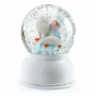Djeco Night Light Snowglobe Lila and Pupi
