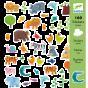 Djeco Stickers Animals