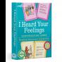 Eeboo I Heard Your Feelings. Conversation Cards