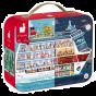 Janod Suitcase Jigsaw 2 Puzzles - Cruises
