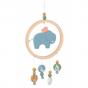 Moulin Roty - Sous Mon Baobab Elephant Dreamcatcher Mobile