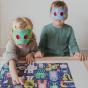 Petit Collage Decoder Puzzle Monster Jam