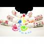 Scola Chubbie Paint Markers - Fluorescent Colours