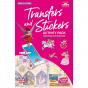 Scribble Down Transfer and Stickers Activity Pack - Princess Fairy Tale Ball