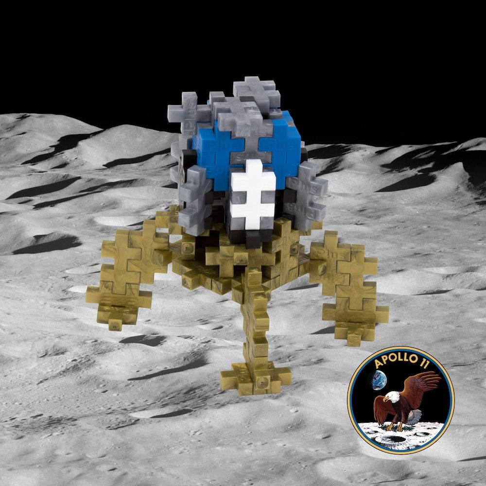 Plus-Plus Lunar Lander 100 Pieces