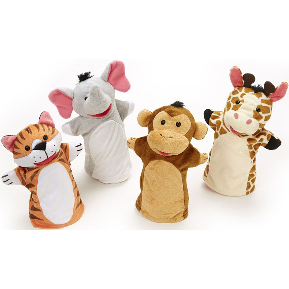 Zoo Friends Hand Puppet - Melissa and Doug