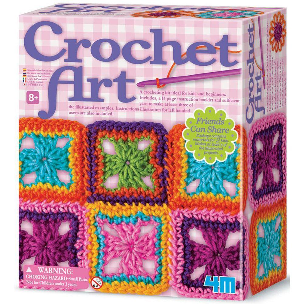 4M Children's Crochet Art