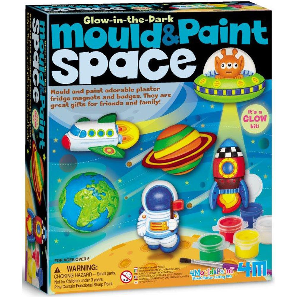 4M Mould and Paint - Space