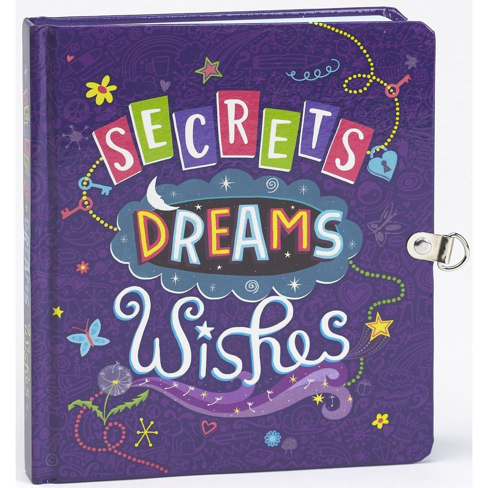 Secrets, Dreams and Wishes Locked Diary