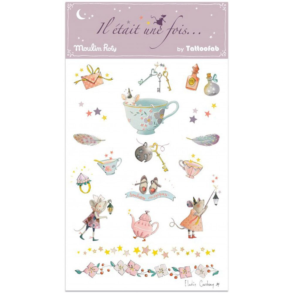 Moulin Roty 'Il etait une fois' Tattoos - Magical Moments - save 50%