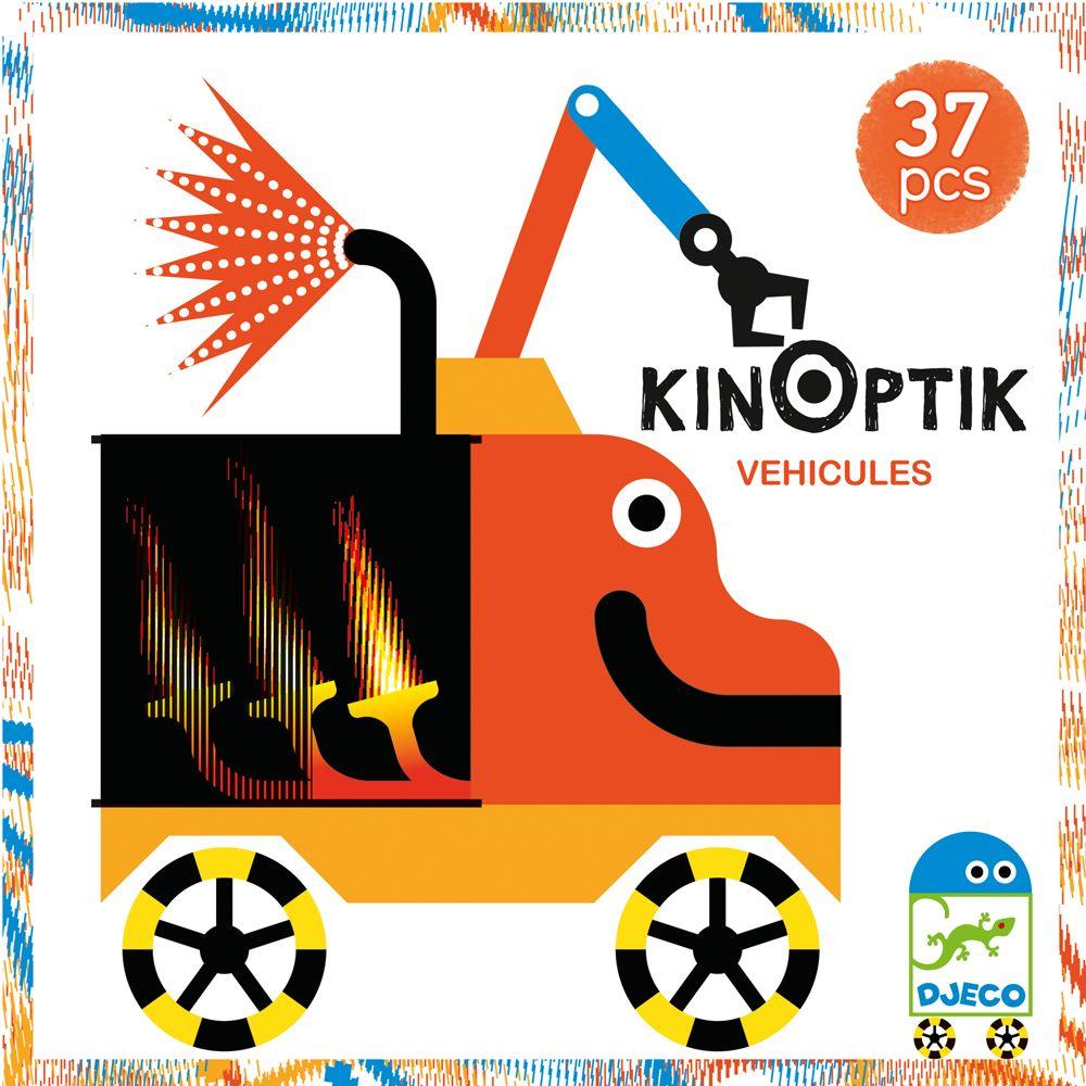 KinOptik Vehicles - By Djeco