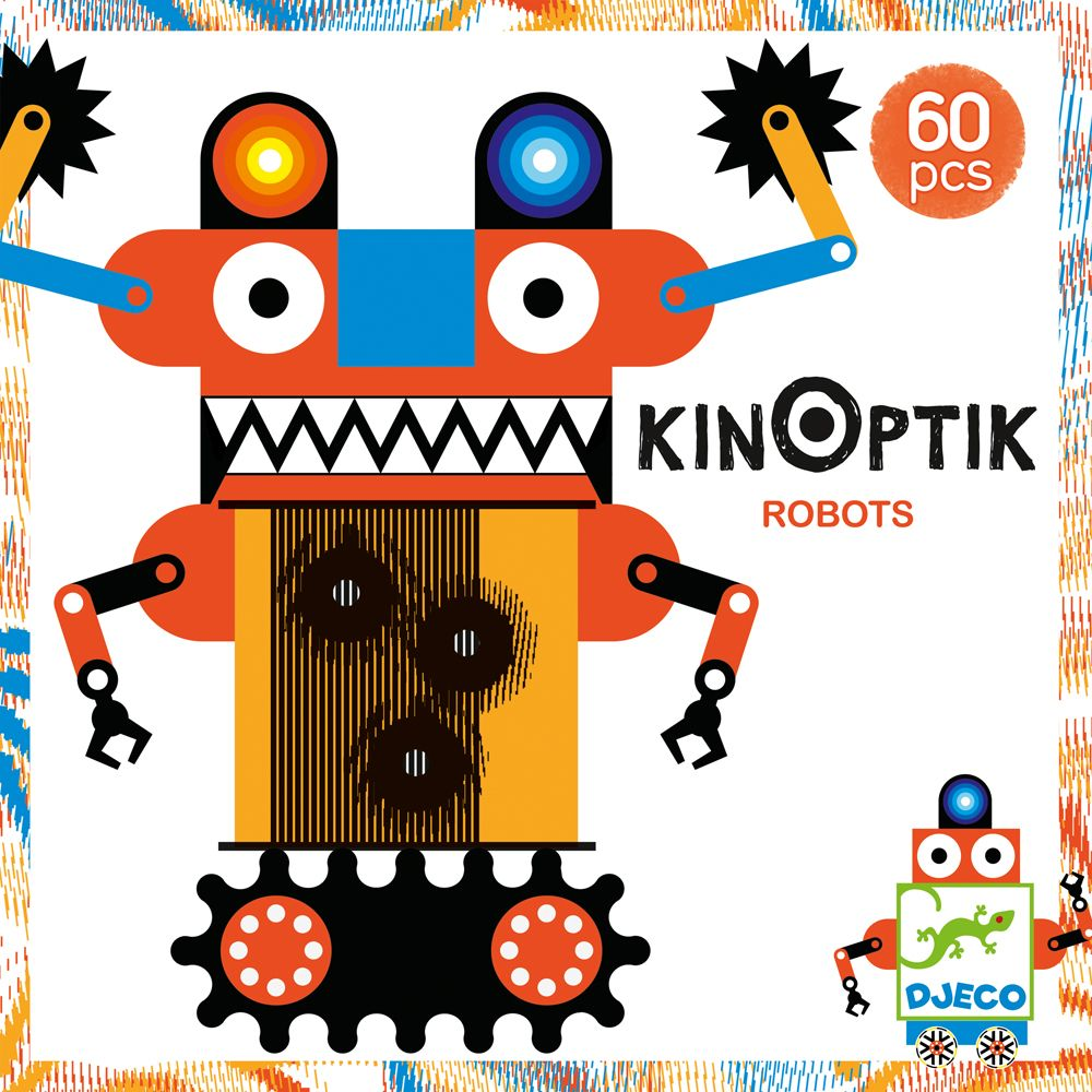 KinOptik Robots - By Djeco