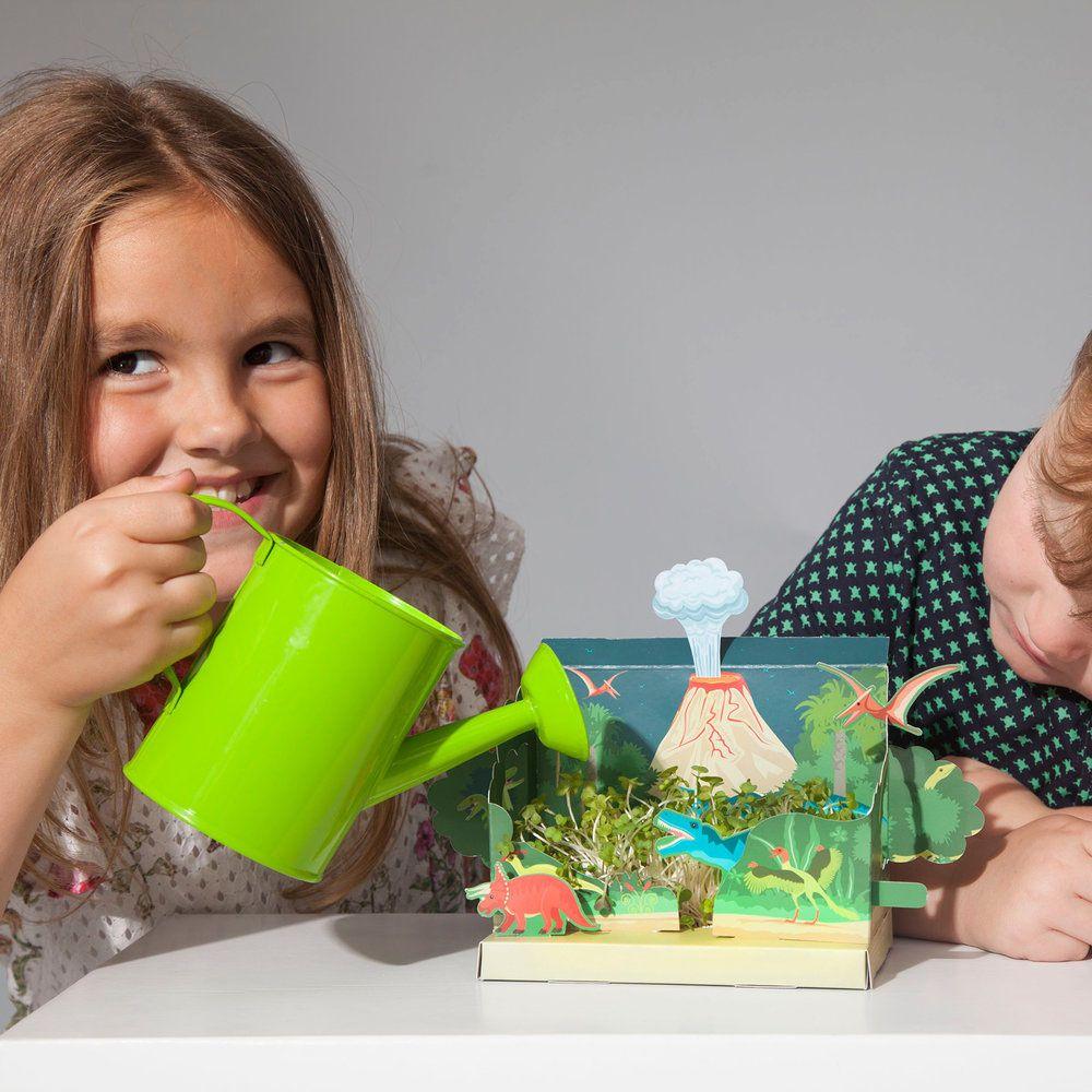 Grow Your Own Mini Dinosaur Garden