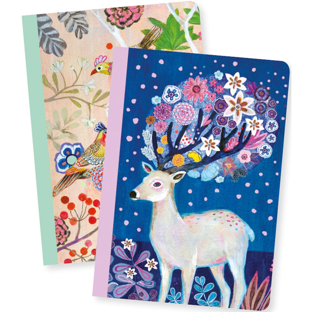 Martyna Little Notebooks - Djeco Lovely Paper