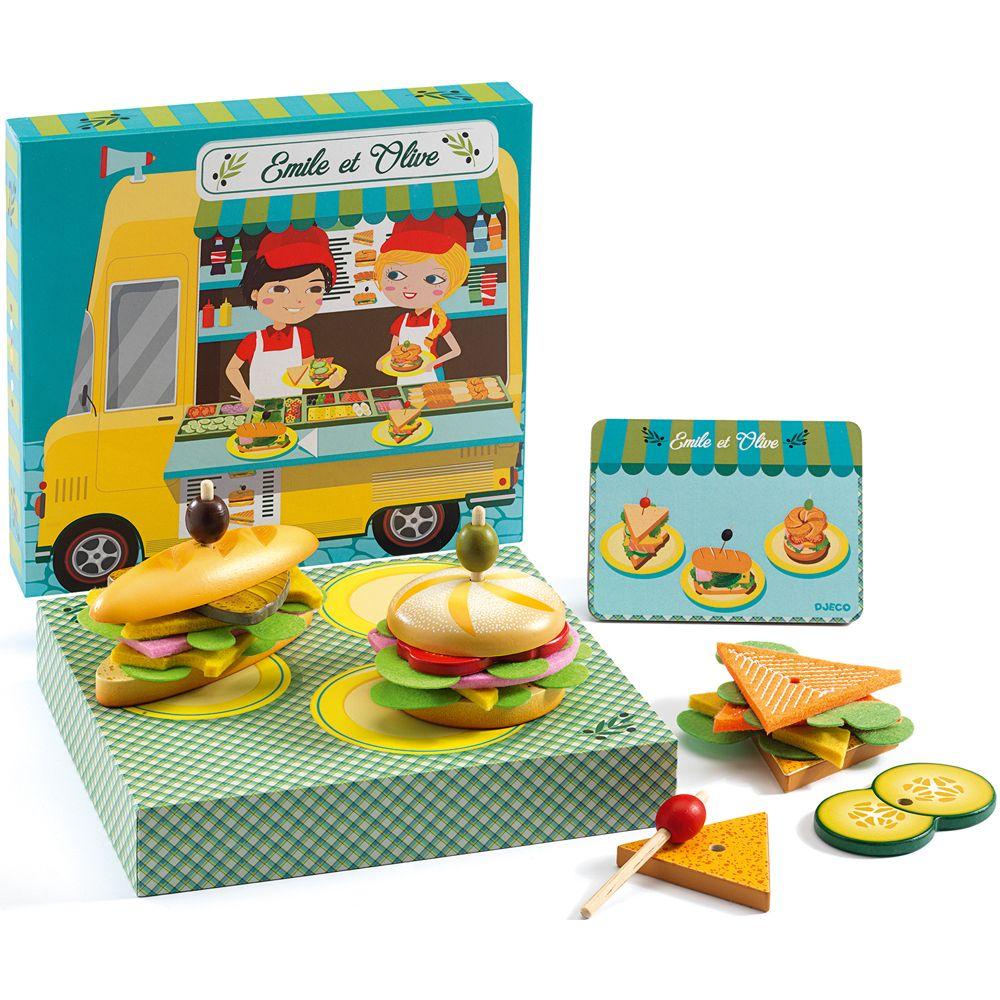 Djeco Sandwich Shop Toy