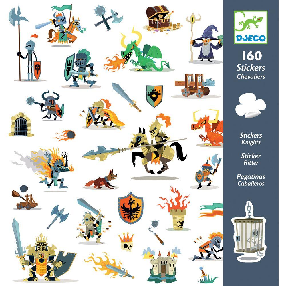 Djeco Knight Stickers