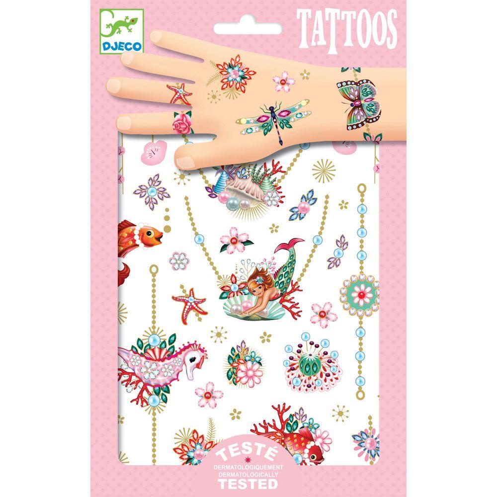 Djeco Tattoos Fiona's Jewels