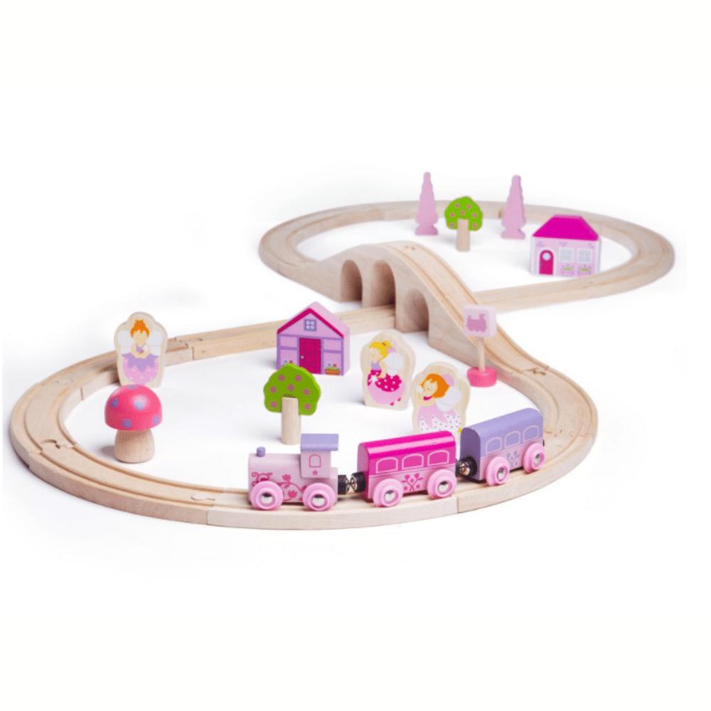 Bigjigs Rail Fairy Figure of 8 Train Set