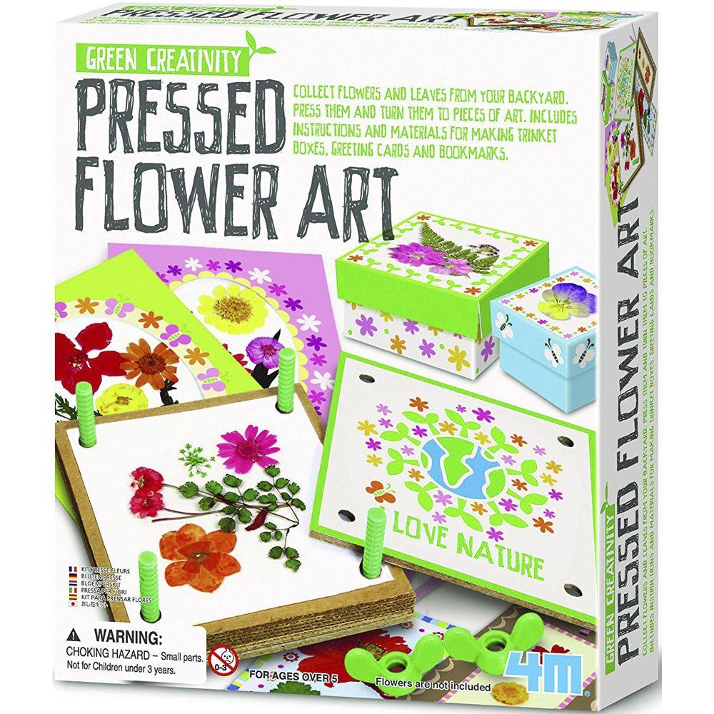 4M Pressed Flower Art