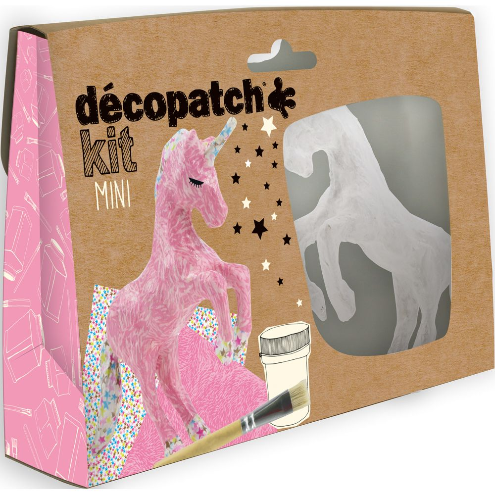 Decopatch Mini Kit - Unicorn