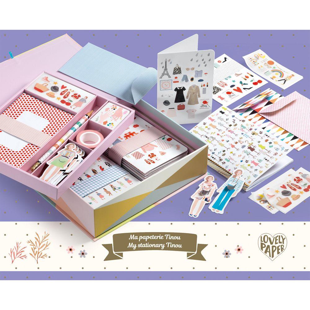 My Stationery Tinou - Lovely Paper by Djeco