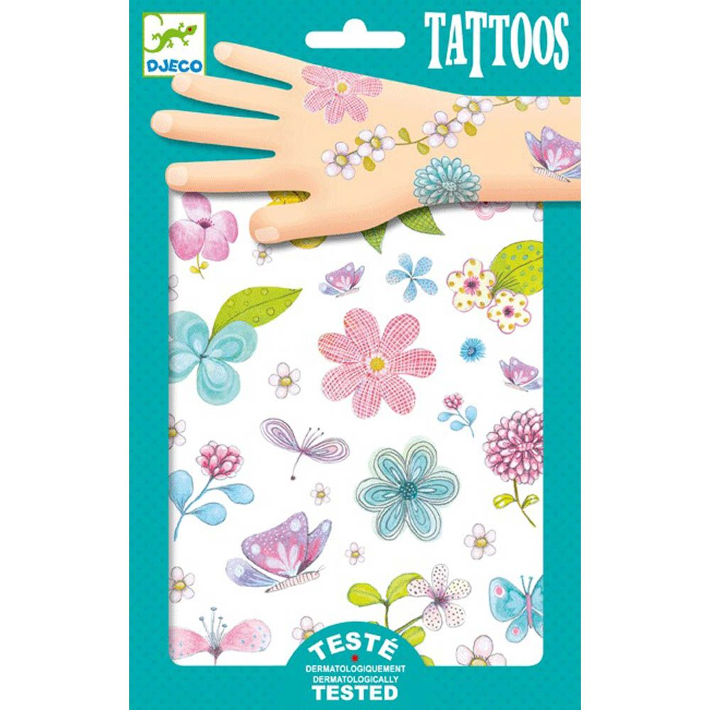 Djeco Tattoos Fair Flowers of the Field