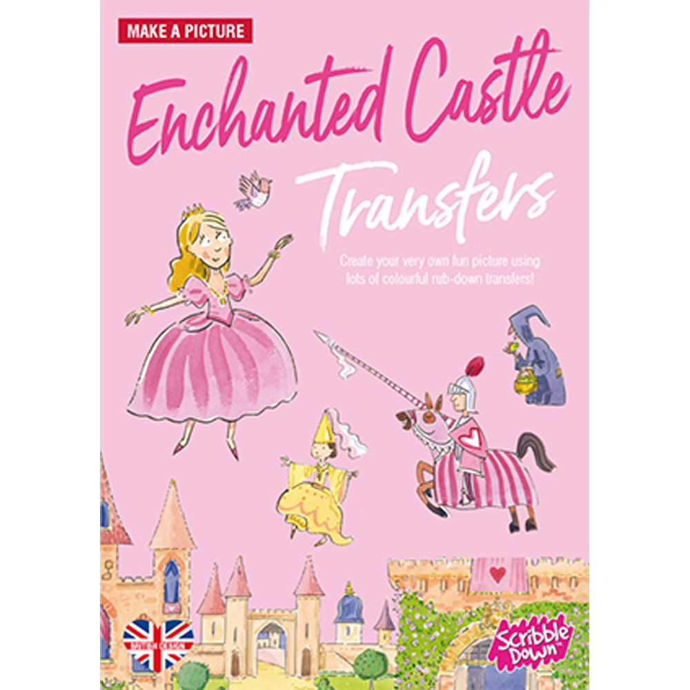 Scribble Down Activity Pack Enchanted Castle