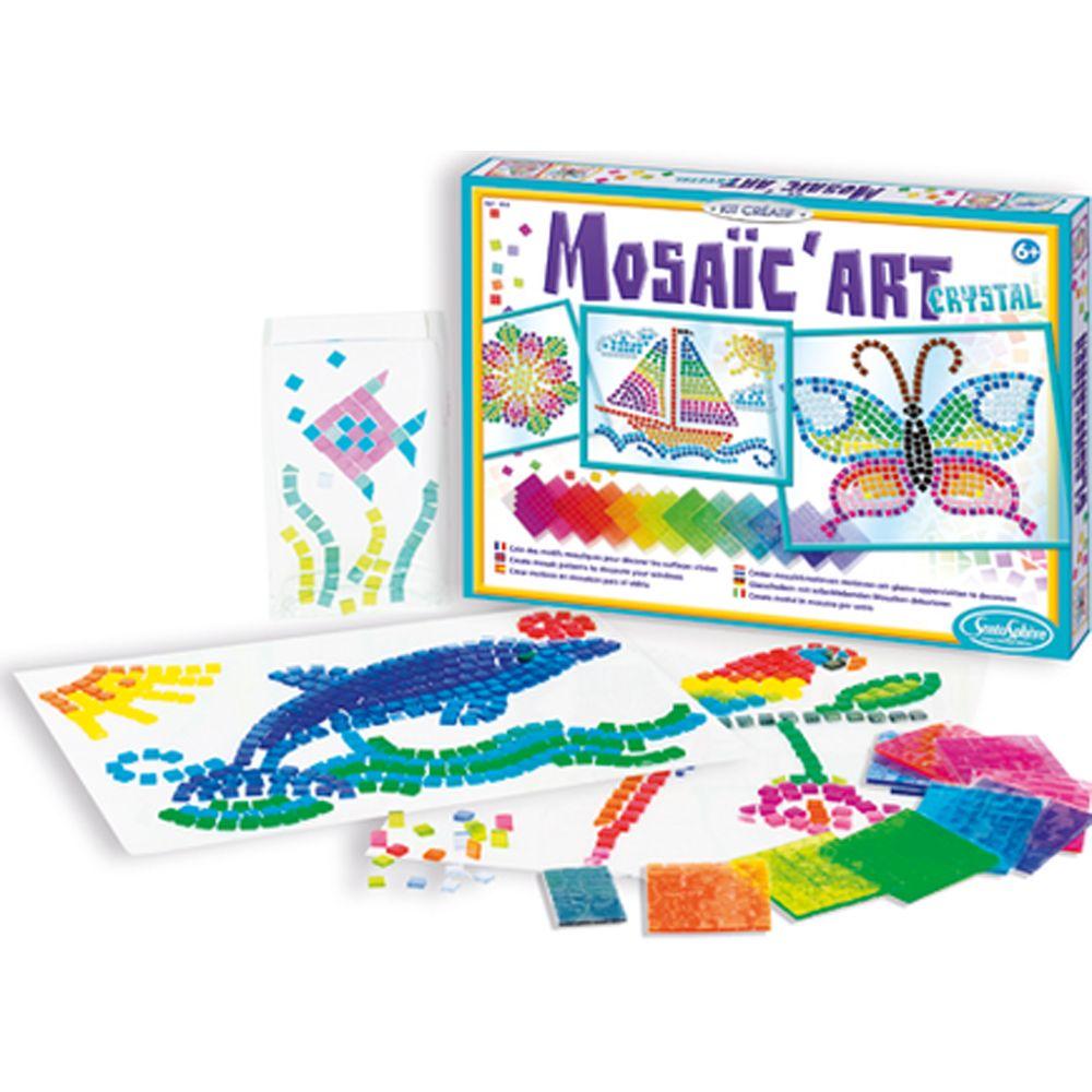 Crystal Mosaic Art