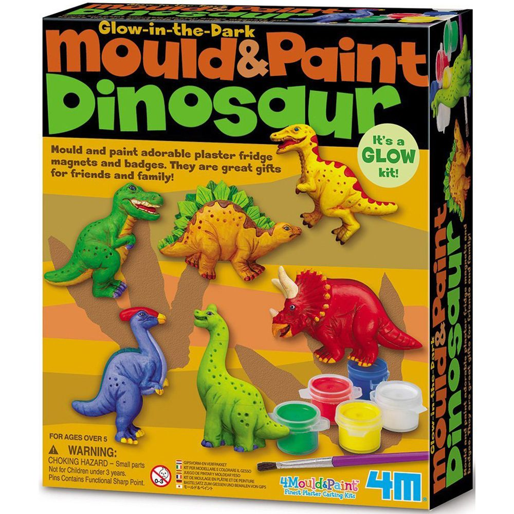 4M Mould and Paint - Dinosaur