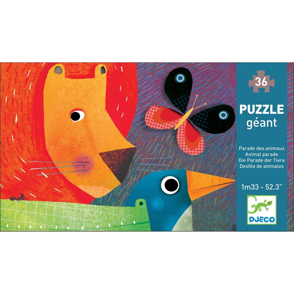 Animal Parade - Djeco Jigsaw Puzzle
