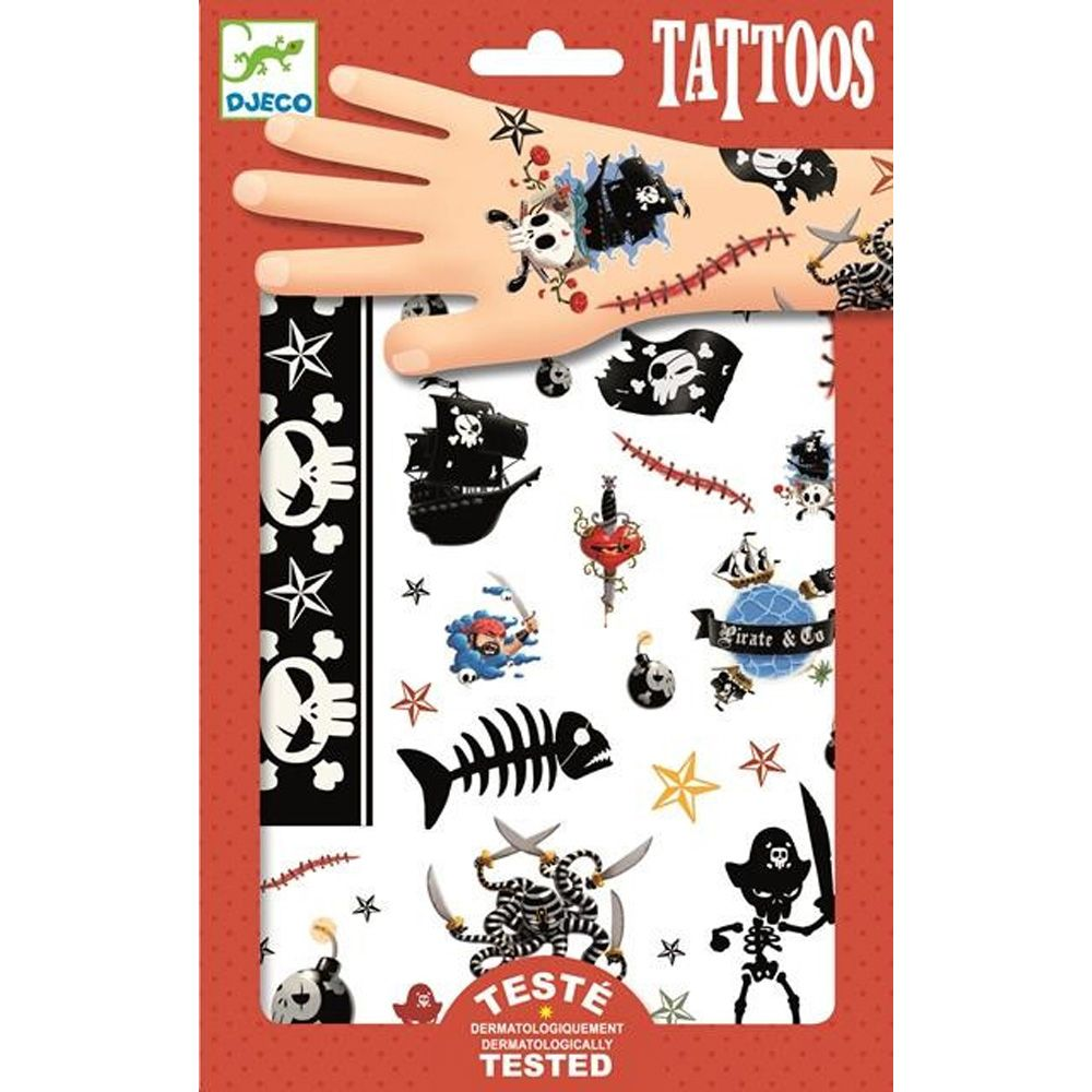 Djeco Tattoos Pirates