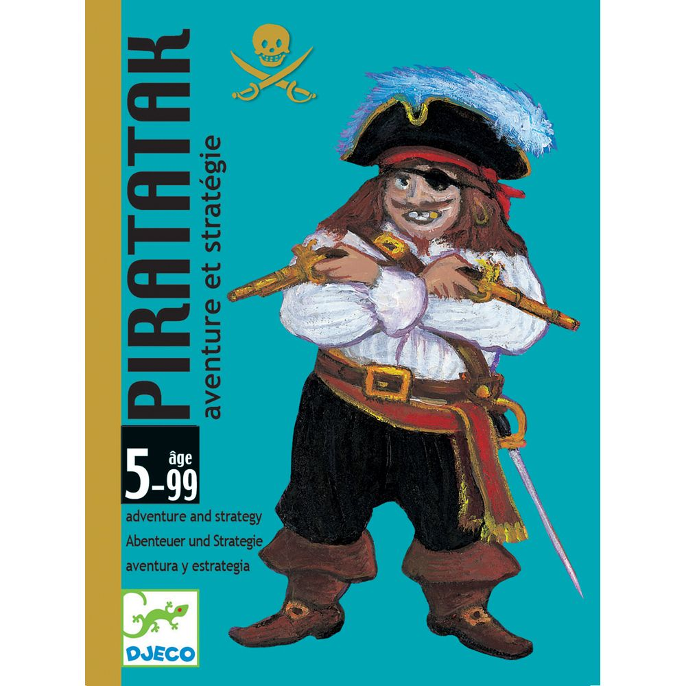Djeco Card Games - Piratatak