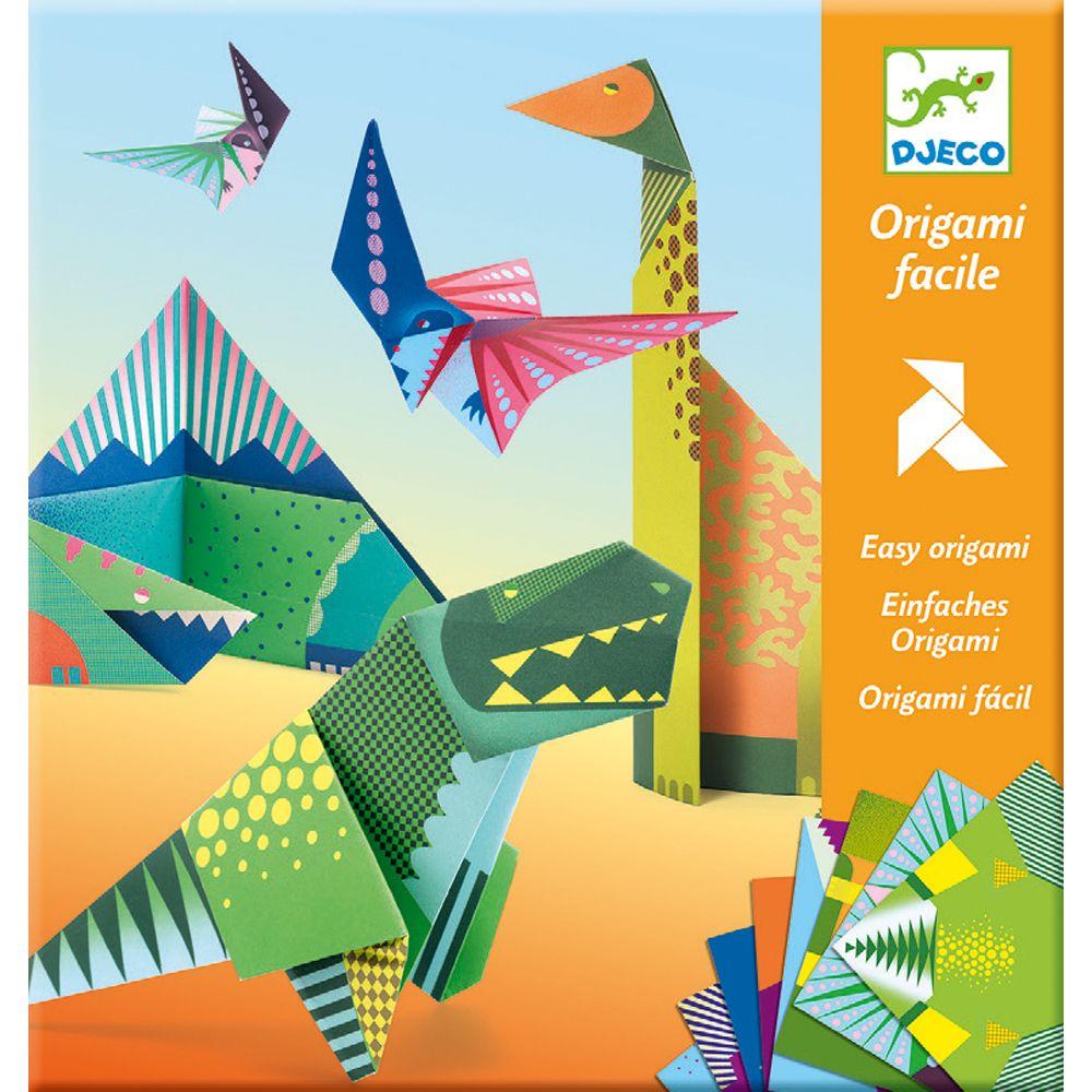 Djeco Easy Origami - Dinosaurs