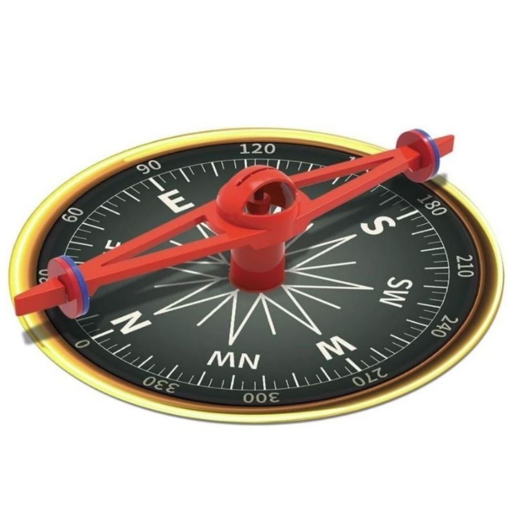4M KidzLabs Giant Magnetic Compass 00-03438
