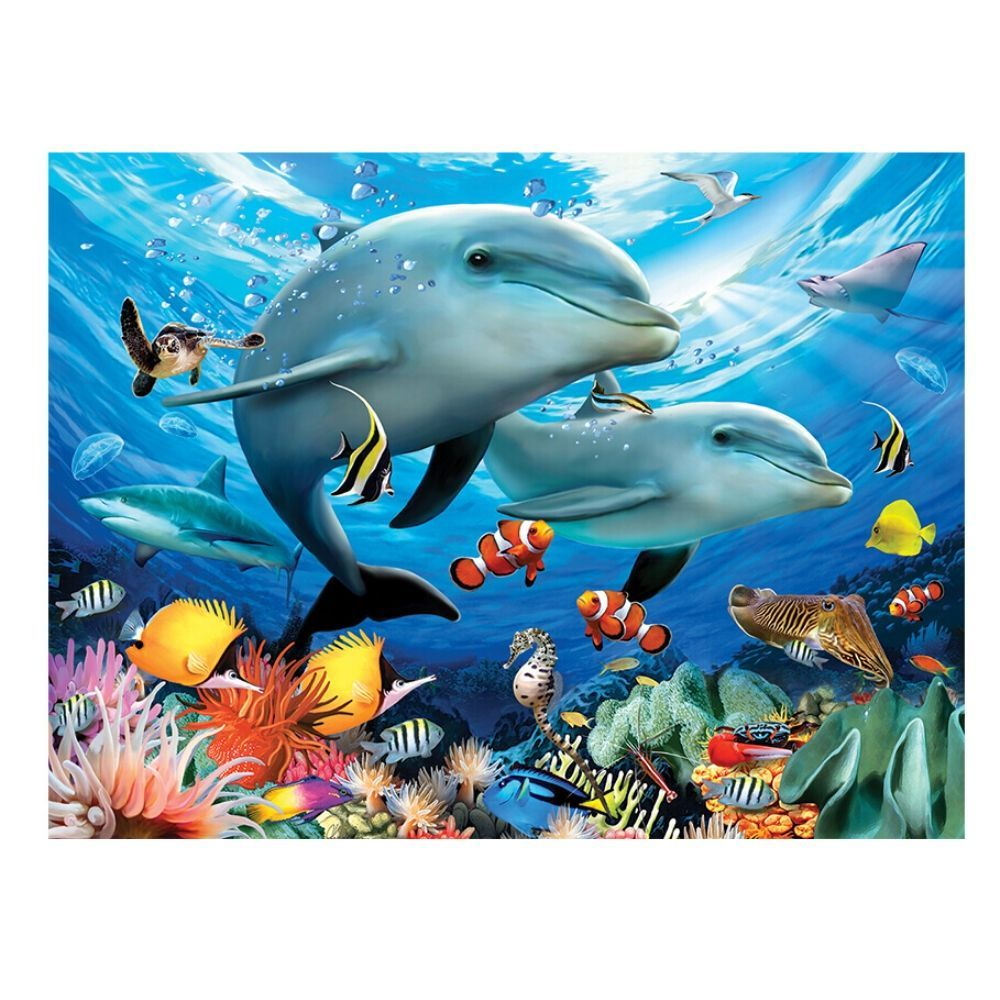 500 piece Puzzle - Beneath The Waves - save 20%