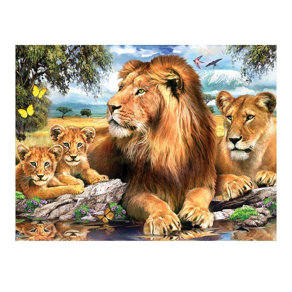 500 piece Puzzle - Lions Pride
