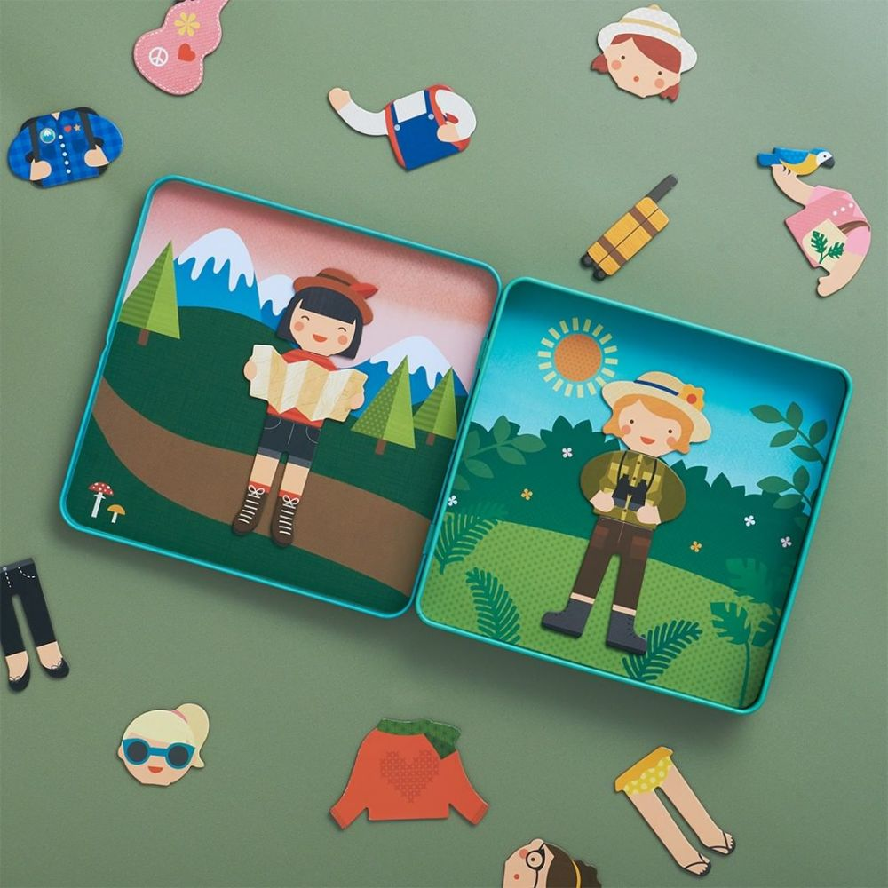 Petit Collage Magnetic Playset - Little Travellers